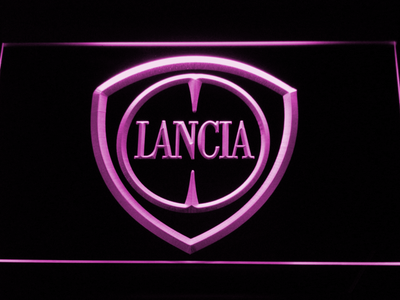 Lancia LED Neon Sign - Purple - SafeSpecial