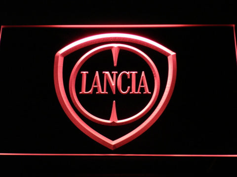 Image of Lancia LED Neon Sign - Red - SafeSpecial