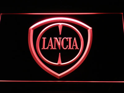 Lancia LED Neon Sign - Red - SafeSpecial