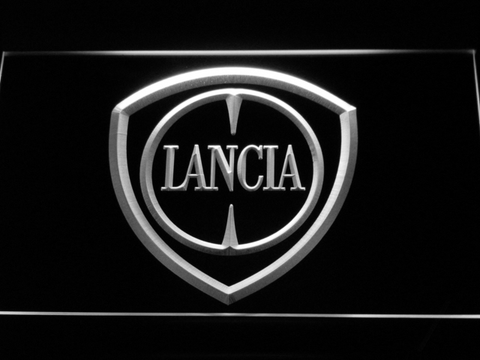 Image of Lancia LED Neon Sign - White - SafeSpecial