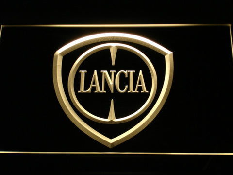 Image of Lancia LED Neon Sign - Yellow - SafeSpecial