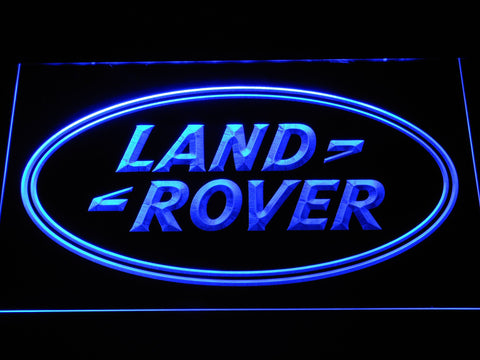 Image of Land Rover LED Neon Sign - Blue - SafeSpecial