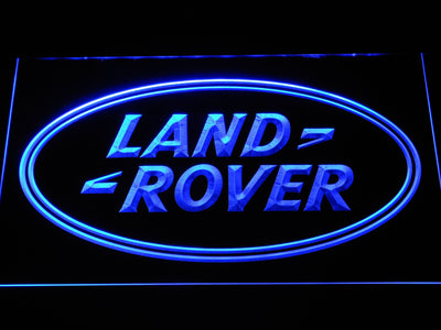 Land Rover LED Neon Sign - Blue - SafeSpecial