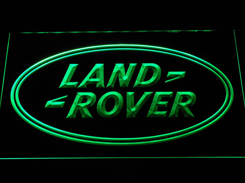Image of Land Rover LED Neon Sign - Green - SafeSpecial