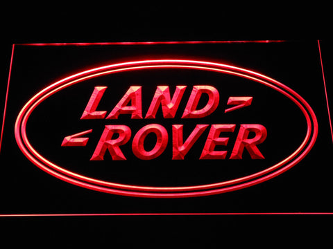 Image of Land Rover LED Neon Sign - Red - SafeSpecial