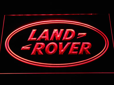 Land Rover LED Neon Sign - Red - SafeSpecial