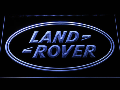 Image of Land Rover LED Neon Sign - White - SafeSpecial