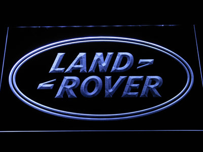 Land Rover LED Neon Sign - White - SafeSpecial