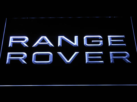 Image of Land Rover Range Rover LED Neon Sign - White - SafeSpecial