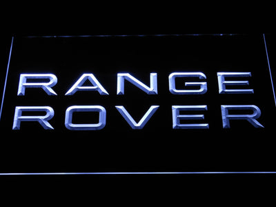 Land Rover Range Rover LED Neon Sign - White - SafeSpecial