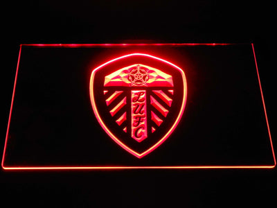 Leeds United Football Club LED Neon Sign - Red - SafeSpecial