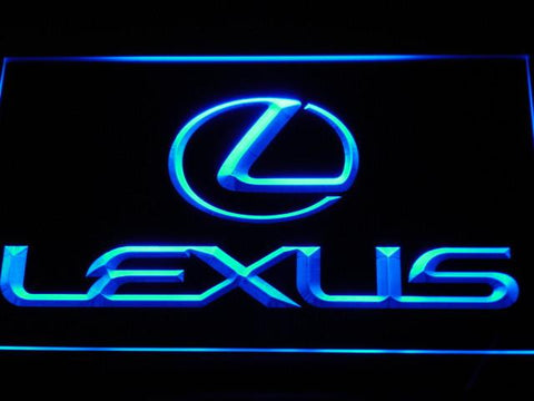 Image of Lexus LED Neon Sign - Blue - SafeSpecial