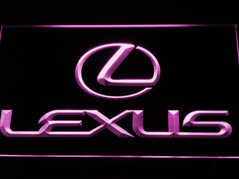 Image of Lexus LED Neon Sign - Purple - SafeSpecial