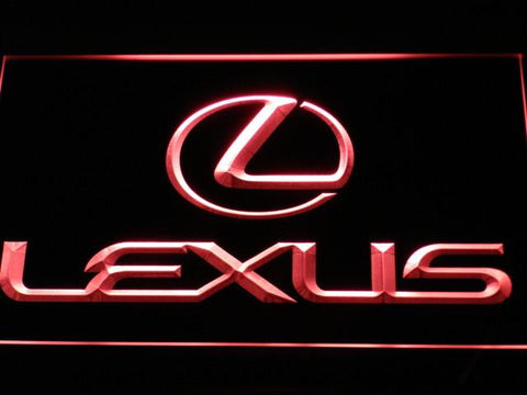 Image of Lexus LED Neon Sign - Red - SafeSpecial