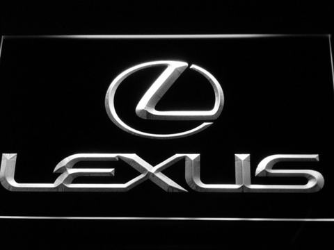 Image of Lexus LED Neon Sign - White - SafeSpecial