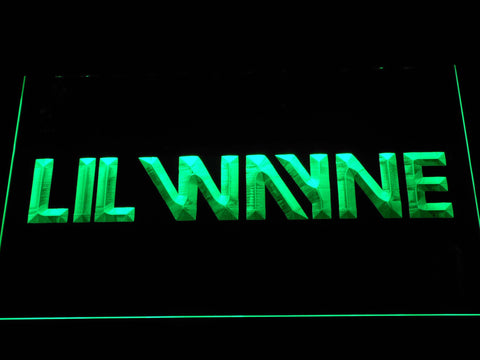 Lil Wayne LED Neon Sign - Green - SafeSpecial
