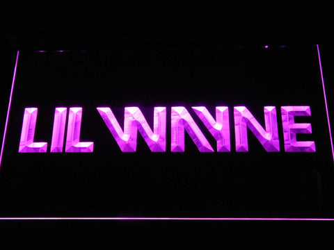 Lil Wayne LED Neon Sign - Purple - SafeSpecial