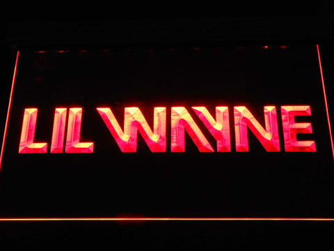 Lil Wayne LED Neon Sign - Red - SafeSpecial