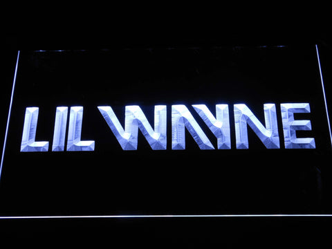 Lil Wayne LED Neon Sign - White - SafeSpecial