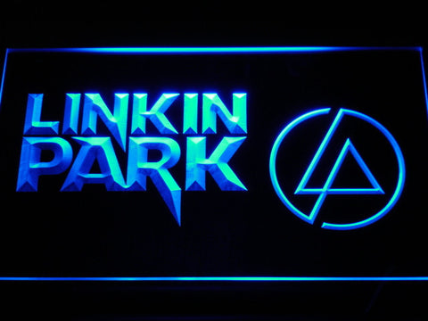 Linkin Park LED Neon Sign - Blue - SafeSpecial