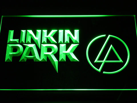 Linkin Park LED Neon Sign - Green - SafeSpecial