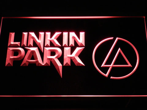 Linkin Park LED Neon Sign - Red - SafeSpecial