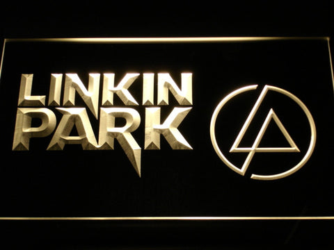 Linkin Park LED Neon Sign - Yellow - SafeSpecial