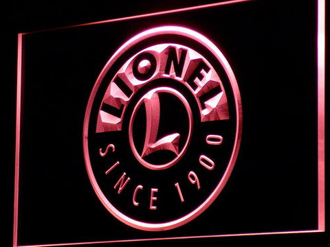 Image of Lionel Trains LED Neon Sign - Red - SafeSpecial