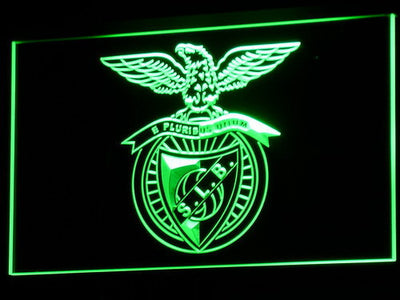 Lisbon S.L. Benfica LED Neon Sign - Green - SafeSpecial
