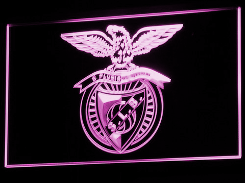 Image of Lisbon S.L. Benfica LED Neon Sign - Purple - SafeSpecial