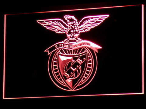 Image of Lisbon S.L. Benfica LED Neon Sign - Red - SafeSpecial
