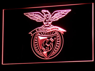 Lisbon S.L. Benfica LED Neon Sign - Red - SafeSpecial