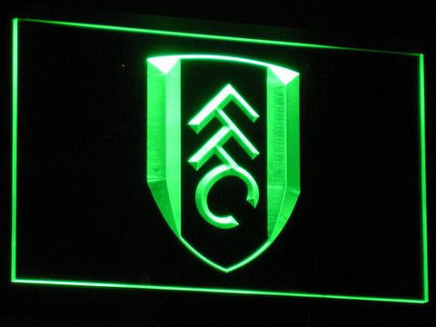 London Fulham FC LED Neon Sign - Green - SafeSpecial