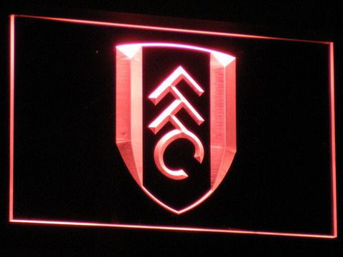 London Fulham FC LED Neon Sign - Red - SafeSpecial
