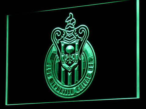 Los Angeles Club Deportivo Chivas USA LED Neon Sign - Green - SafeSpecial