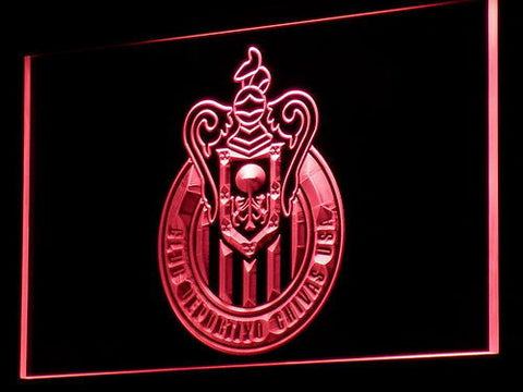 Los Angeles Club Deportivo Chivas USA LED Neon Sign - Red - SafeSpecial