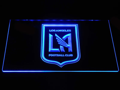 Los Angeles Football Club LED Neon Sign - Blue - SafeSpecial