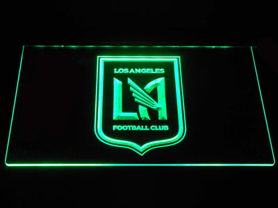 Los Angeles Football Club LED Neon Sign - Green - SafeSpecial