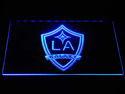 Los Angeles Galaxy LED Neon Sign - Blue - SafeSpecial