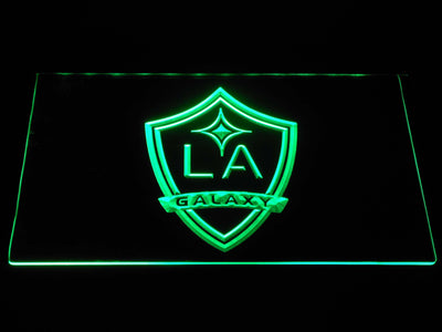 Los Angeles Galaxy LED Neon Sign - Green - SafeSpecial