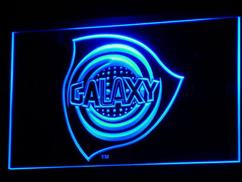 Los Angeles Galaxy LED Neon Sign - Legacy Edition - Blue - SafeSpecial