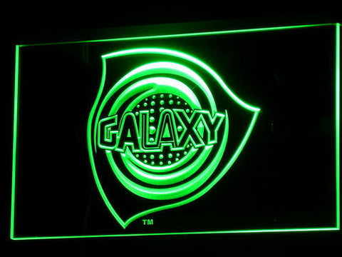 Los Angeles Galaxy LED Neon Sign - Legacy Edition - Green - SafeSpecial