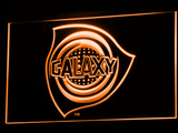 Los Angeles Galaxy LED Neon Sign - Legacy Edition - Orange - SafeSpecial