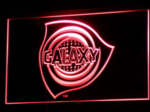Los Angeles Galaxy LED Neon Sign - Legacy Edition - Red - SafeSpecial