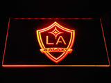 Los Angeles Galaxy LED Neon Sign - Orange - SafeSpecial