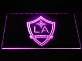 Los Angeles Galaxy LED Neon Sign - Purple - SafeSpecial