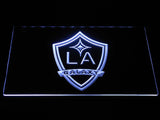 Los Angeles Galaxy LED Neon Sign - White - SafeSpecial
