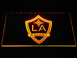 Los Angeles Galaxy LED Neon Sign - Yellow - SafeSpecial