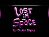 Lost in Space 1960s LED Neon Sign - Purple - SafeSpecial