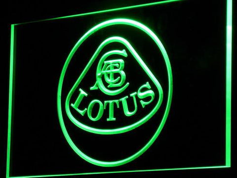 Image of Lotus Authorized LED Neon Sign - Green - SafeSpecial